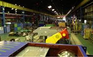 破砕機の設計・製造の拠点でもある 久宝寺工場にテストプラントがあります。