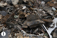 90数万トンともいわれる豊島の不法投棄産業廃棄物