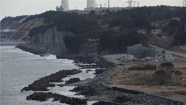 津波で全壊した南地区浄化センターの復旧工事が進みます