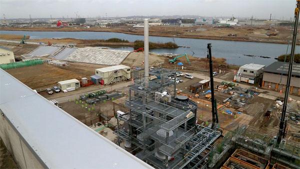 新しい施設の建設も始まり震災後の暮らしを支える準備が進みます