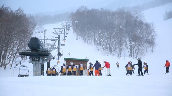 エリア内には数多くのスキー場が