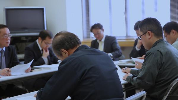 ニセコ町職員との合同会議